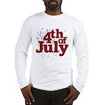 4th of July Long Sleeve T-Shirt
