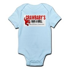 Crawbaby's Bar & Grill Infant Creeper