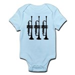 Triple Trumpet Infant Bodysuit