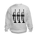 Triple Trumpet Kids Sweatshirt