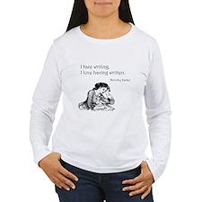 Love/Hate Writing T-Shirt