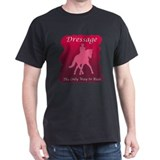 Dressage Black T-Shirt
