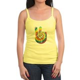 Tie-Dye Peace Hand Tank Top