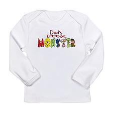 dadsmonster.png Long Sleeve Infant T-Shirt