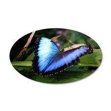 Blue Morpho Butterfly 2 Wall Decal