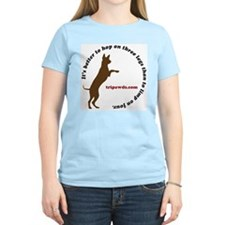 Unique Tripawd T-Shirt