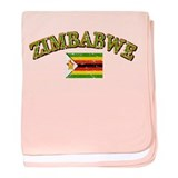 Zimbabwe Football baby blanket