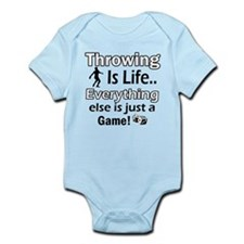 Throwing Is Life Infant Bodysuit