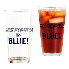 City Football Designs Drinking Glass