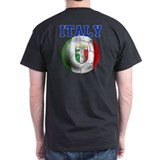 Italy Soccer Ball T-Shirt