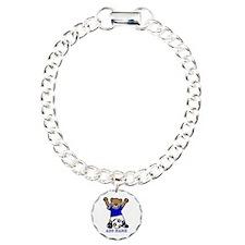 Cute Personalized soccer bear Bracelet