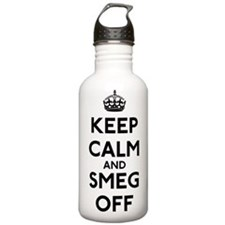 Keep Calm And Smeg Off Water Bottle