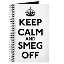Keep Calm And Smeg Off Journal