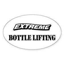 Extreme Bottle Lifting Oval Decal