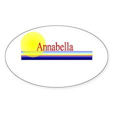 Annabella Oval Decal