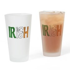 Irish Colors Drinking Glass