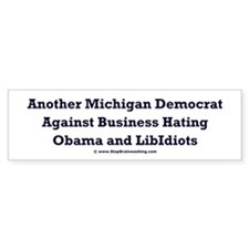 Michigan Democrat - Bumper Sticker
