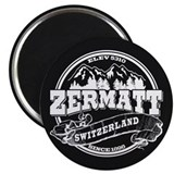 Zermatt Old Circle Magnet