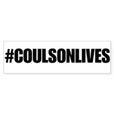 Coulson Lives Bumper Sticker 2 Bumper Sticker
