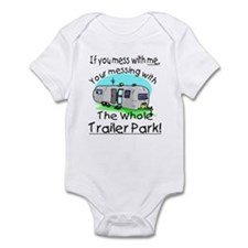 Trailer park. Infant Bodysuit