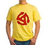 Showing your age Yellow T-Shirt