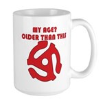 Aging gracefully Large Mug