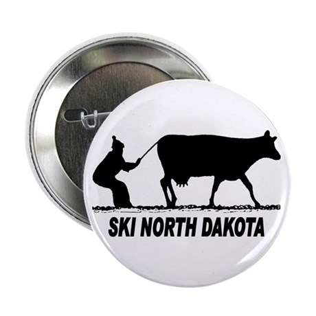 Ski North Dakota Button