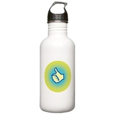 Retro Thumbs Up Water Bottle