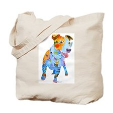 Jack Russell Terrier Many Colors Tote Bag