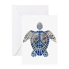 Sea Turtle Peace Greeting Card