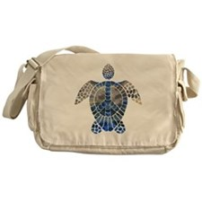 Sea Turtle Peace Messenger Bag