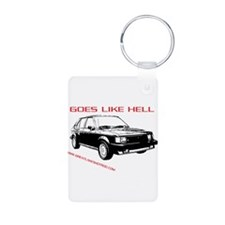 Goes Like Hell Keychains