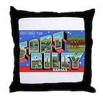 Fort Riley Kansas Throw Pillow
