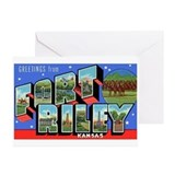Fort Riley Kansas Greeting Cards (Pk of 10)