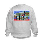 Fort Riley Kansas Kids Sweatshirt