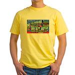 Fort Riley Kansas Yellow T-Shirt