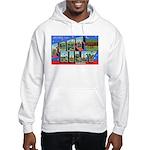 Fort Riley Kansas (Front) Hooded Sweatshirt