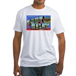 Fort Riley Kansas Fitted T-Shirt