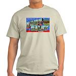Fort Riley Kansas (Front) Ash Grey T-Shirt