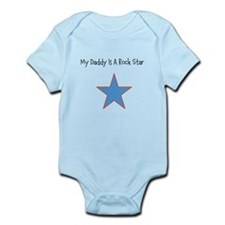Infant Bodysuit (My Daddy Is A Rock Star)