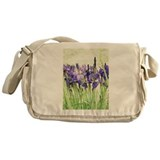 Irises Messenger Bag