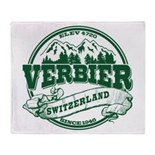 Verbier Old Circle Throw Blanket