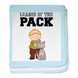 Boy Leader of the Pack Baby Blanket