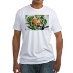 Spinach is good, too! Fitted T-Shirt