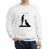 German Shepherd Silhouette Jumper