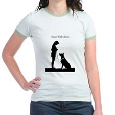 German Shepherd Silhouette T
