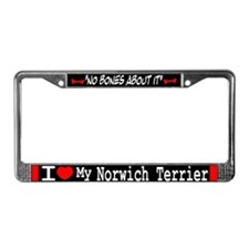 Norwich Terrier Gifts License Plate Frame