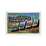 Camp Hood Texas Rectangle Magnet