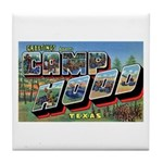 Camp Hood Texas Tile Coaster
