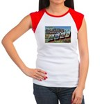 Camp Hood Texas Women's Cap Sleeve T-Shirt